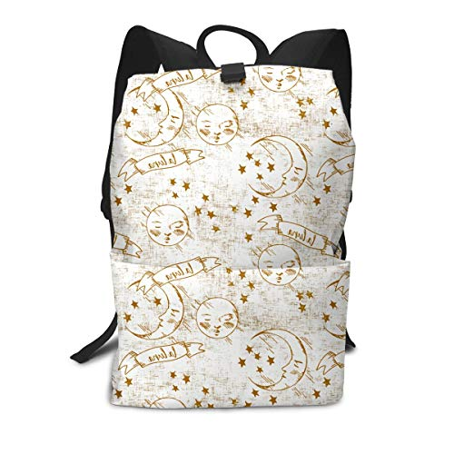 Carrara Marble Art Stars Personality Mini Cute Lightweight Women Themed Mini Bookbag Teens School Backpack Bookbags College Bags Satchel Travel Book Bag Daypack ()