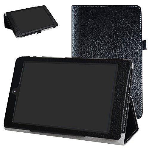 DigiLand DL8006 Case,Mama Mouth PU Leather Folio 2-folding Stand Cover for 8.0