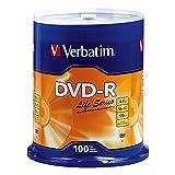 Verbatim DVD-R Life Series 4.7GB 16x, 100 Pack