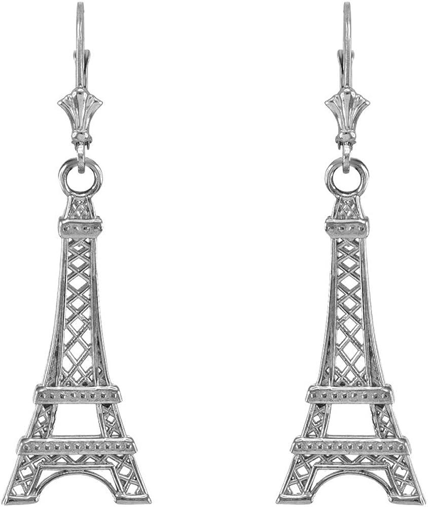 Eifel Tower DropDangle Earrings