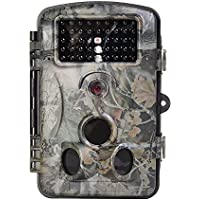 CVLIFE Game Camera Trail Camera for Hunting 12MP 1080P Infrared Wildlife Camera Home Security
