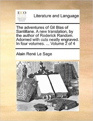 Amazon com: The Adventures of Gil Blas of Santillane  a New