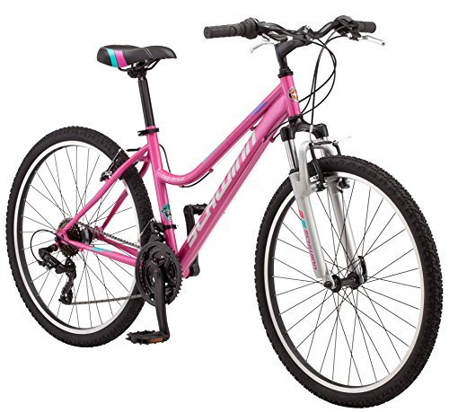 "Schwinn Womens High Timber Mountain Bicycle, 16""/Small, Light Purple"