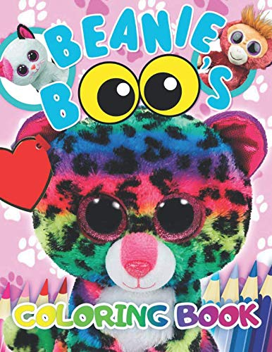 Beanie Boos Coloring Book: 34 Exclusive Illustrations por Activity Child