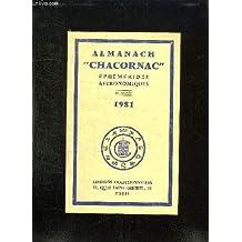 Almanach Chacornac éphémérides astronomiques 1981