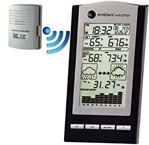 Ambient Weather WS-1171B Wireless Advanced Weather Station with Temperature, Dew Point, Barometer and Humidity