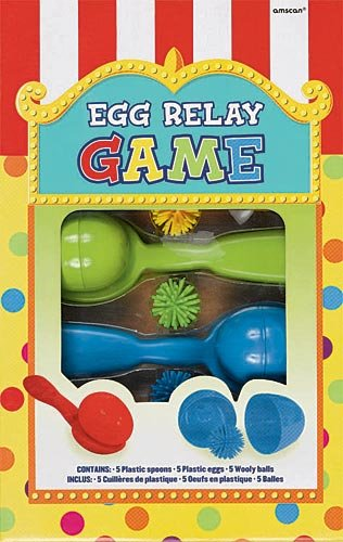 Egg Relay Game | Game Collection | Party Accessory -