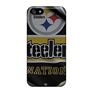 New NJJ7626nGLV Pittsburgh Steelers Covers Cases For Iphone 5/5s