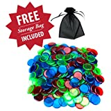 300 Mixed Color Bingo Markers w/ Free Storage Bag