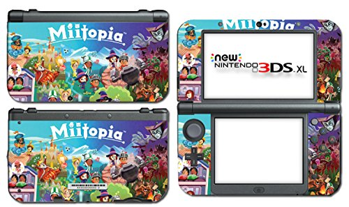 Miitopia Mii Quest Dark Lord Rpg Video Video Game Vinyl Decal Skin Sticker Cover For The New Nintendo 3Ds Xl Ll 2015 System Console