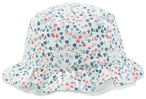 TotMore Baby Tollder Girls Adorable Floral Patterned Bucket Sun Protection Hat Summer Outdoor Cap