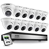 ZOSI 16 Channel 1080p Security Camera System,16 Channel DVR with