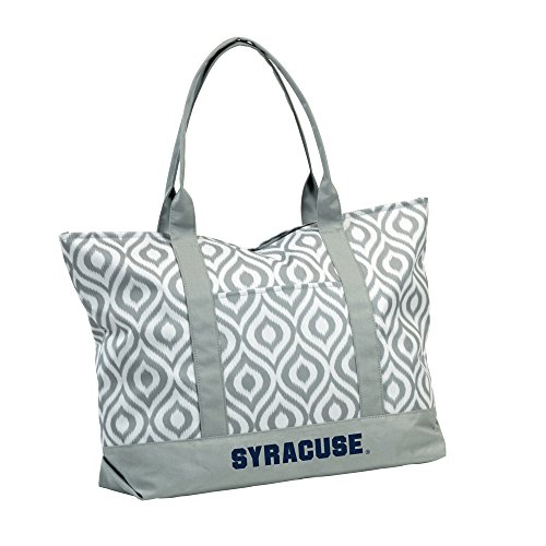 Logo Brands NCAA Syracuse Ikat Tote, One Size, Multicolor by Logo Brands