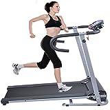 (US) Goplus 500W Folding Electric Treadmill Portable Motorized Running Machine Black