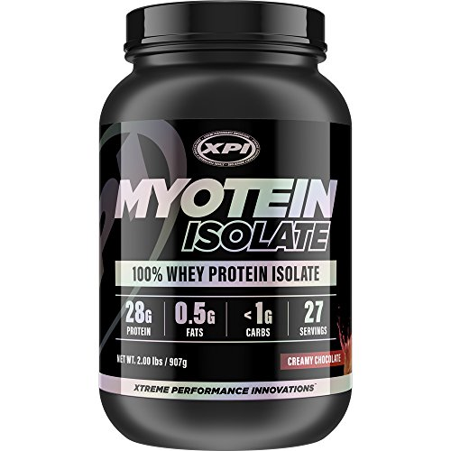(XPI Myotein Isolate (Creamy Milk Chocolate) 2LBS - Whey Protein Isolate - Best Whey Protein Isolate Protein Powder)