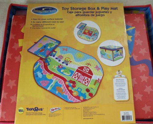 Amazon.com : Imaginarium Toy Storage & Play Mat : Early Development Playmats : Baby