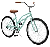 "Critical Cycles Chatham Beach Cruiser Women's 26"" Single-Speed, Seafoam"