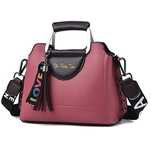 New Ladies Bag Fashion Wenl Rubberred Yellow 6qFxz5