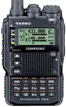Yaesu Vx 8dr 6m 2m 70cm Band Amateurfunk Handfunkgerät Elektronik