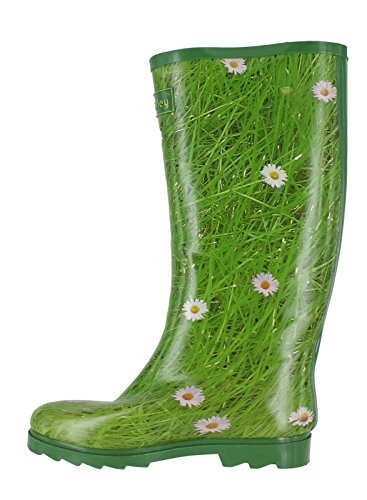 Wyre Valley Womens Pattern Animal Wellingtons Wellies Muck Boots Daisy 4gOeUsE