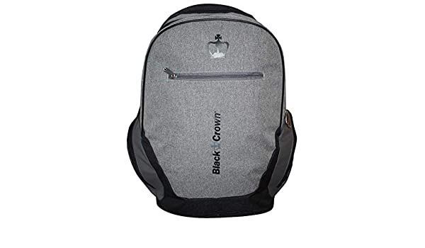 Amazon.com: Paddle (Padel) Backpack ¨Bit¨ Gray- Black Crown ...