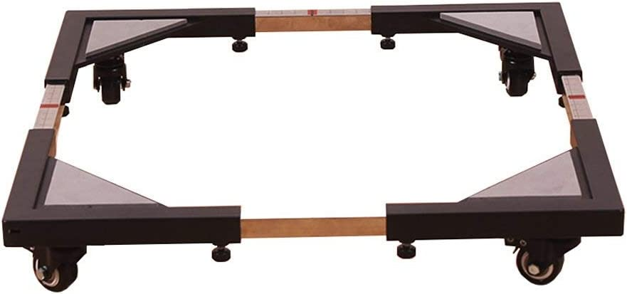 MY1MEY Pedestal de Base Lavadora de Base Ajustable Base de Base Soporte Universal Muebles Ajustables multifuncionales Muebles de Rodillos básicos móviles para Lavadora Secadora