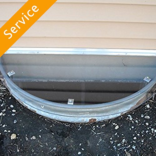 Ace Window A/c Cover (Window Well Cover Installation - 1 Cover)