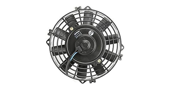 MuChangZi 12V 8 Pulgadas Universal del Coche del Aire Acondicionado Ventiladores del Condensador