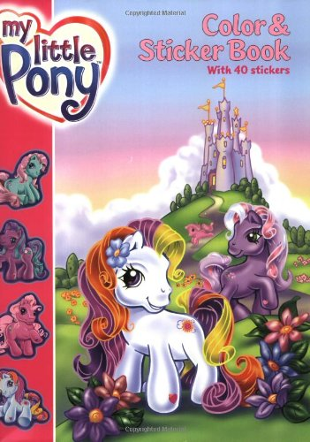 My Little Pony Color & Sticker Book ebook