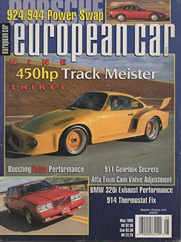 European Car Magazine, May 1993 (Vol 24, No 5) ()