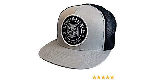 N-A White Trucker Hats for Men Embroidered Cap Embroidery Snapback Hat Spade Logo