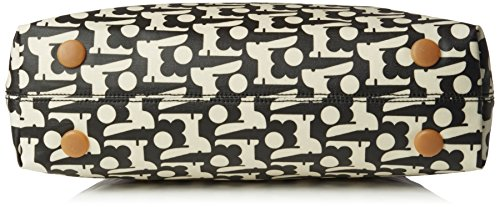 Womens Orla Classic Kiely Orla Kiely Black Zip Bag Shoulder Black tIRxHHqw