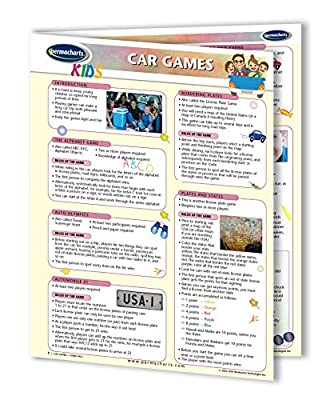 Car Games - Kid Activities Quick Reference Guide by Permacharts