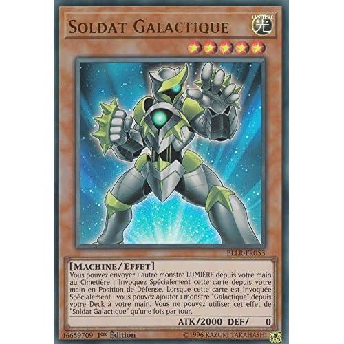 "Carte Yu-Gi-Oh! ""Soldat Galactique"" BLLR-FR053 - VF/ULTRA RARE"