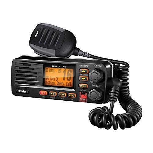 Uniden UM380 Black VHF Radio Class D UM380BK UM380BK (Dsc Marine Radio)