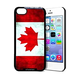 MMZ DIY PHONE CASEShawnex Canada Canadian Flag Grunge Distressed iphone 4/4s Case - Thin Shell Plastic Protective Case iphone 4/4s Case
