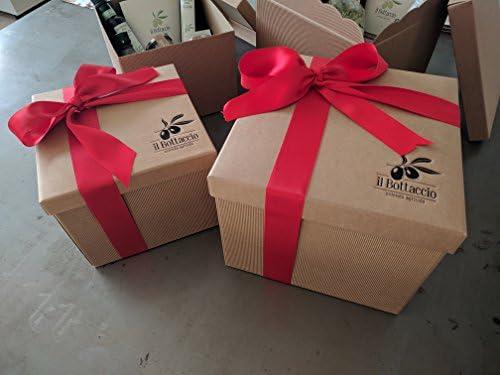 Caja de regalo grande de Aceite de oliva virgen extra toscano ...