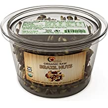 USDA Organic Brazil Nuts 100% Natural Raw Whole Brazilian Nuts Certified Gluten-Free and Kosher Salt Free Healthy Snack For Kids Or Adults a Good Source of Magnesium and Antioxidant Selenium - 8 oz