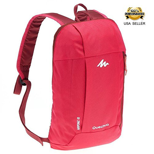 48a39d7933ca5 Quechua Backpack 10 Liters pink ARPENAZ, X-Sports Decathlon, water  repellent, for