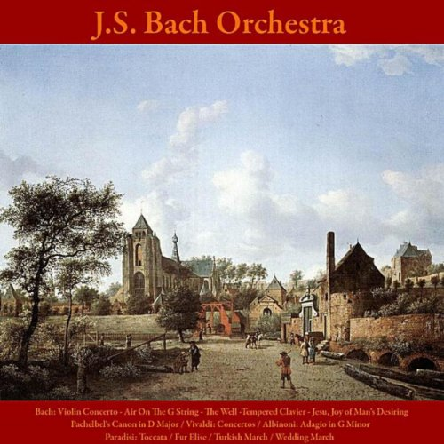 Bach: Violin Concerto: Air On the G String - The Well -Tempered Clavier - Jesu, Joy of Man's Desiring / Pachelbel's Canon in D Major / Vivaldi: Concertos / Albinoni: Adagio in G Minor / Paradisi: Toccata / Fur Elise / Turkish March / Wedding March (On Violin The Air G-string)