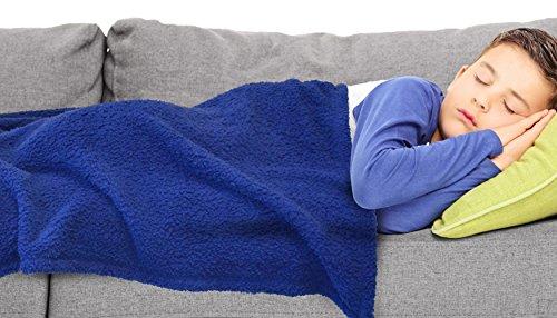 Napa Sherpa Throw Blanket for Kid's Room Nursery, Super Soft