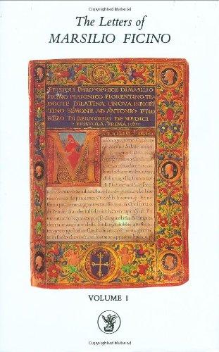 The-Letters-of-Marsilio-Ficino-Volume-1