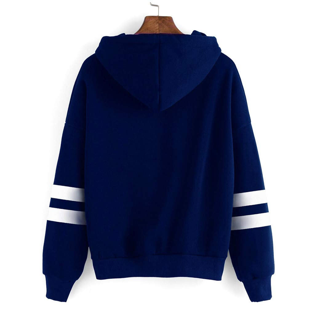 Womens Crewneck Hooded Sweatshirt Sunflower Print Hoodies Winter Patchwork Pullover Long Sleeve Tunics Tops Blouse