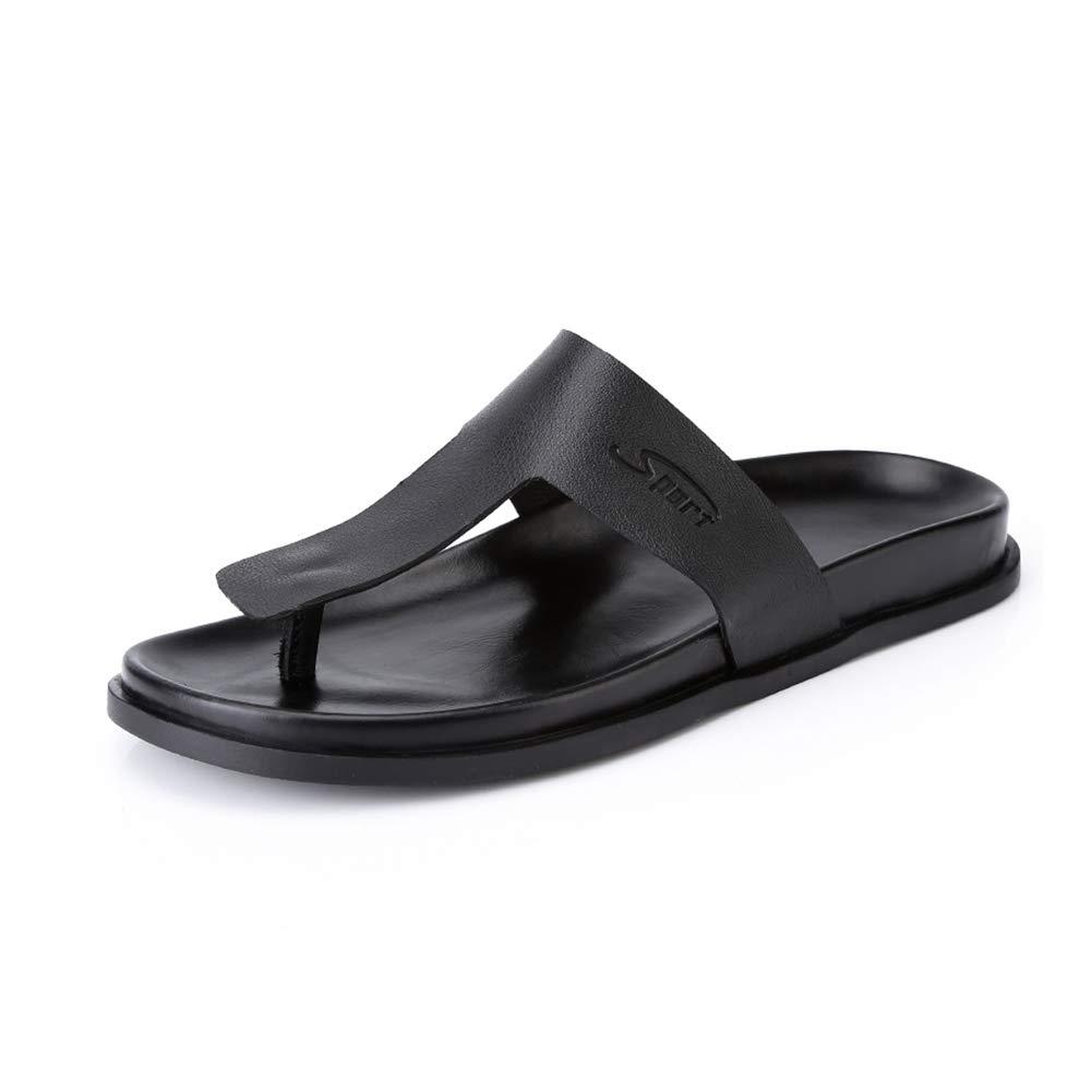 GYYFC Uomo laccio Tempo Tempo Tempo libero Pantofole Accogliente Antiscivolo Scarpe aperte leggero Fondo morbido Resistente all'usura sandali a9e91e