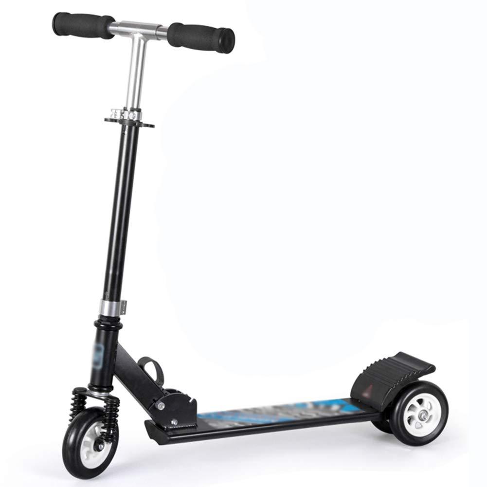 ●日本正規品● キックスクーター三輪車スケートボードペダル式乗用スタントスクーター調節可能な折りたたみTバーハンドルライトアップホイール付き B07H9XD93L 3 wheels|黒 wheels|黒 黒 3 3 3 wheels, トナーバンク:5894c487 --- a0267596.xsph.ru