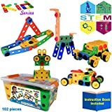 KareFLASH STEM Educational Building Blocks | IQ Builder | Creative Construction Engineering |...