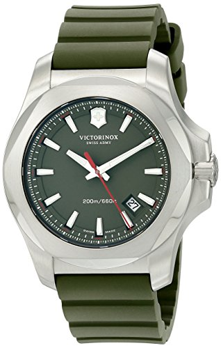 Victorinox Men's 241683.1 I.N.O.X. Analog Display Swiss Quartz Green Watch -  adult