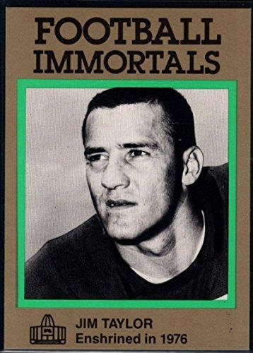 Football NFL 1985-88 Football Immortals #113 Jim Taylor Packers ()