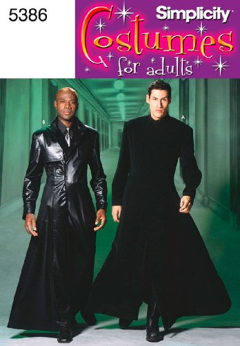 Simplicity Sewing Pattern 5386 Men and Teen Costumes, A (Best Simplicity Creative Patterns Mens Costumes)