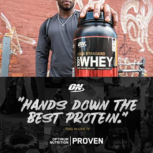 Optimum Nutrition Gold Standard 100% Whey Protein Powder, Unflavored, 2 Pound